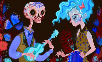 The Day of the Dead, Sugar Skulls, and Art