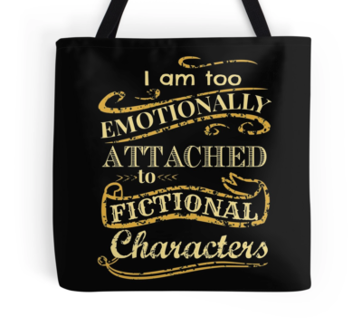 emotinally attached tote bag