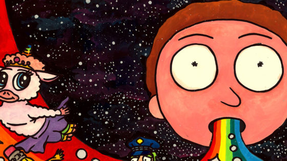 The 21 Best Pieces of Rick and Morty Fan Art in the Multiverse