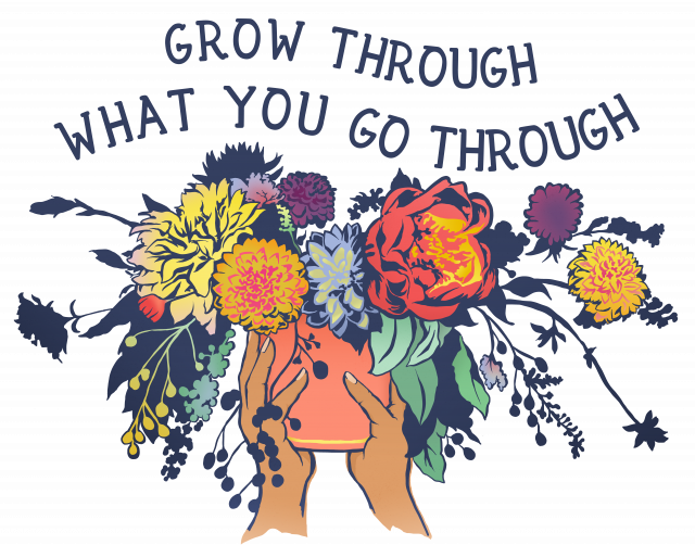 Affirming Growth Quote Illustration
