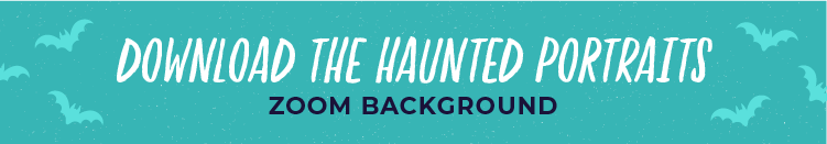 download button for haunted portrait zoom background