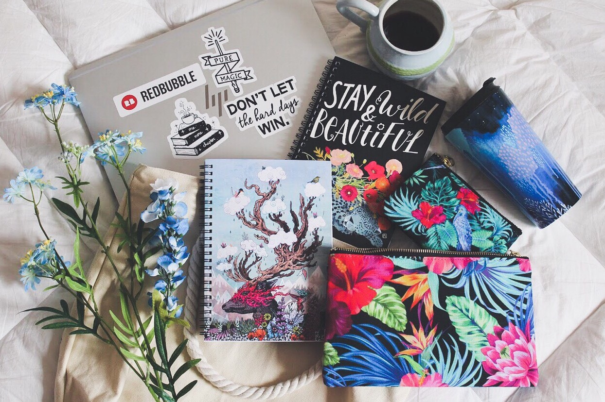 Photo of spiral notebooks