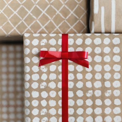 photo of Geometric and modern wrapping paper