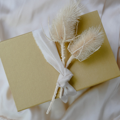 Photo of Gift boxes with flowers