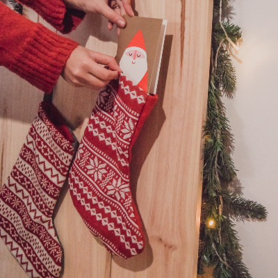 Photo of Stockings as a gift wrap