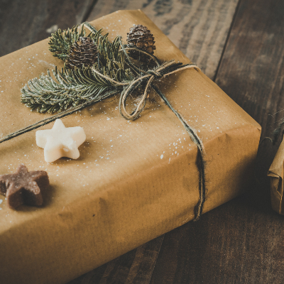 Photo of a Vintage Gift Wrap