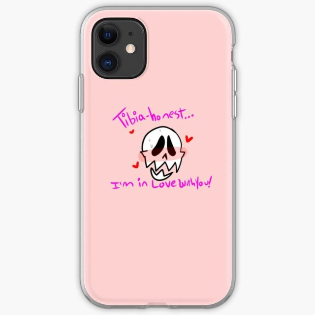 A photo of a Skeleton pun iphone case