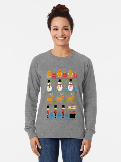 Photo of a Christmas Returns Ugly Sweater