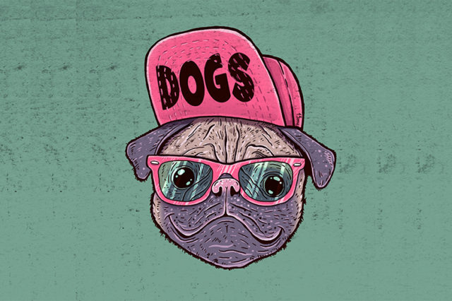 Artwork Dogs by limeart
