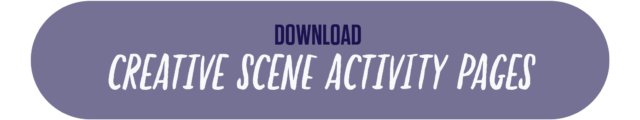 button to download the creative scene activity page