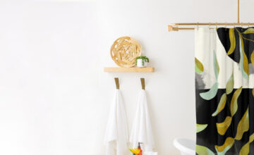 How To Clean a Shower Curtain and Liner