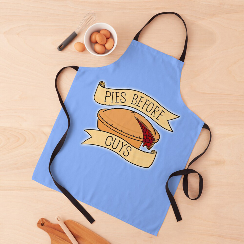 pies before guys funny apron