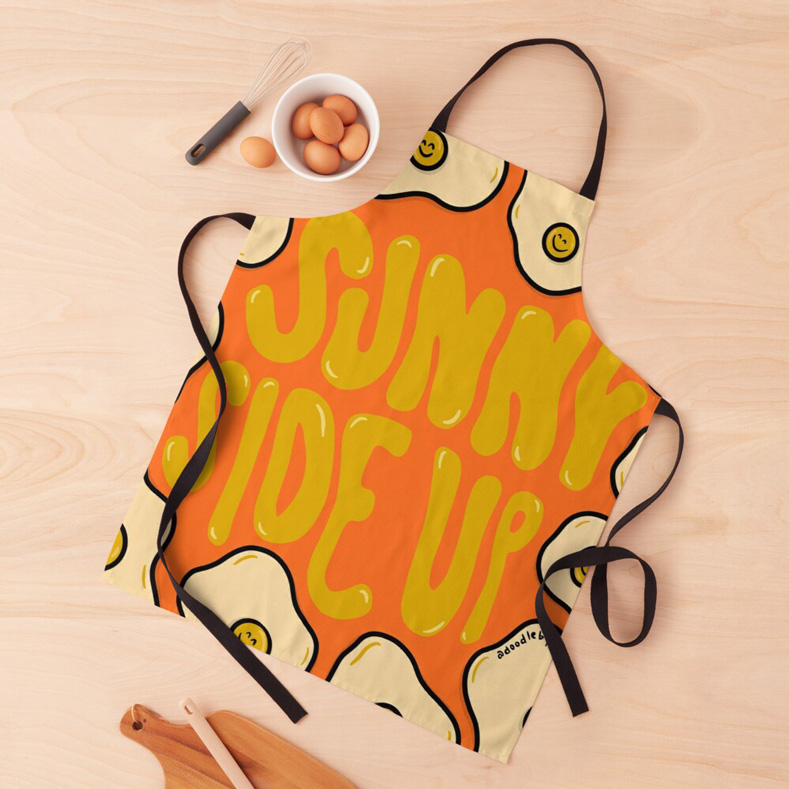 sunny side up funny apron