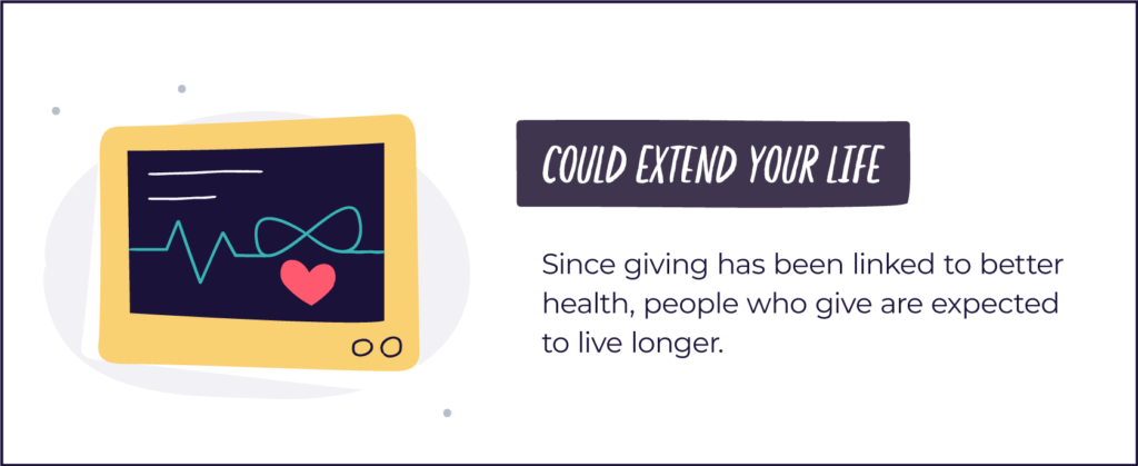 gifting could extend your life