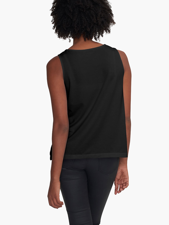 Alternate view of Sunset Colours Sleeveless Top