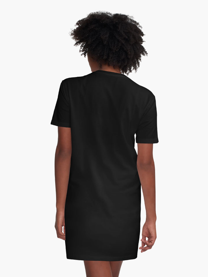 Alternate view of the dromedary Graphic T-Shirt Dress